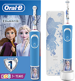 Набор - Oral-B Kids Frozen Special Edition (tooth/brush/1pcs + case) (1шт)