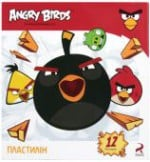 "Пластилин мягкий ""Angry Birds"", 12 цветов, AB03603, Вариант 2 - Cool For School"