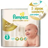 Подгузники Pampers Premium Care Dry Max Midi 3 (4-9 кг) 27 шт - Pampers