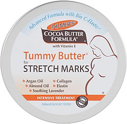 Твердое масло от растяжек - Palmer's Cocoa Butter Formula Tummy Butter for Stretch Marks