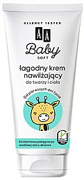 Увлажняющий крем для лица и тела - AA Cosmetics Baby Soft