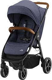 Коляска B-Agile R, Navy Ink / Brown - Britax