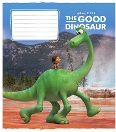 "Тетрадь в линейку ""The Good Dinosaur-5"" 18 листов - Star"