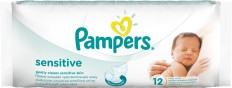 "Салфетки Pampers ""Sensitive"" 12шт - Pampers"