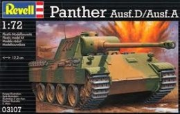 """Model Set Танк """"PzKpfw. V Panther Ausf. D/Ausf. A"""", 1:400 - Revell"""