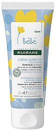 Питательный крем - Klorane Bebe Nourishing Cream With Cold Cream