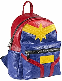 Рюкзак Casual Fashion Faux-Leather Captain Marvel Backpack - Cerda