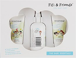 Набор детский - Fifi & Friends The Baby Essentials (milk/50ml + cream/50ml + spray/150ml)