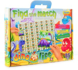 "Развивающпя игра ""Find the match. Dino Life"" - 1 Вересня"