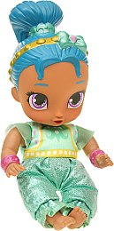 "Кукла ""Шиммер и Шайн"" в бирюзовом , 17 см - Shimmer and Shine Jakks Pacific"