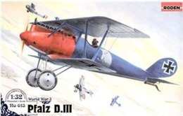 "Сборная модель ""Pfalz D.III WWI German fighter"" - Roden"