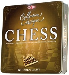 Шахматы классические Chess Pieces and Board Wood - Tactic Games UK