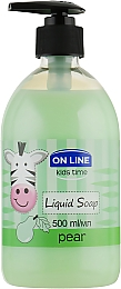 "Жидкое мыло ""Груша"" - On Line Kids Time Liquid Soap Pear"