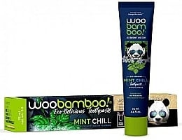 Зубна паста з м'ятою та фтором - Woobamboo Mint Chill Toothpaste With Fluoride