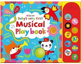 "Детская книга ""Baby's Very First Touchy-Feely Musical Play Book"" (англ.) - Usborne Publishing Ltd"