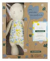 Klorane Baby Set My First Scented Water + Baby Accessory - Zestaw (edt 50 ml + toy)