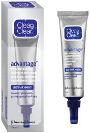 Гель-аппликатор от прыщей - Clean & Clear Advantage Gel s.o.s Anti-Espinillas
