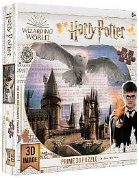 "3D Пазл ""Harry Potter, Hogwarts Castle"", 300 элементов - Prime 3D"