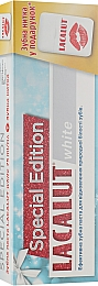 Набор - Lacalut White Special Edition Set (t/paste/75ml + dental/floss)