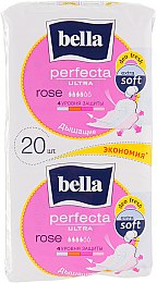 Прокладки Perfecta Rose Deo Fresh Soft Ultra, 10+10шт - Bella
