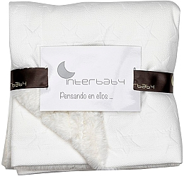 """Плед """"Bubble Stars Lamb Blankets"""" 110 x 80, beige - Interbaby"""