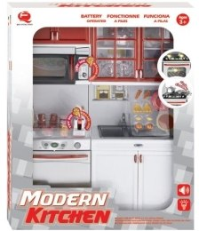 Кухня Modern Kitchen №5, 27х9,5х34,5см - Qun Feng Toys