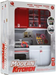 Кухня Modern Kitchen №3, 27х9,5х34,5см - Qun Feng Toys