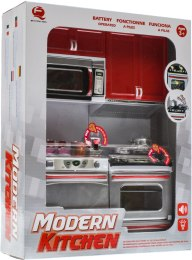 Кухня Modern Kitchen №2, 27х9,5х34,5см - Qun Feng Toys