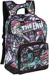 Рюкзак Minecraft Tales From The End Backpack, MultiColor - Jinx