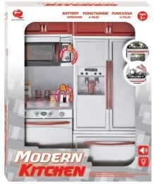 Кухня Modern Kitchen №4, 27х9,5х34,5см - Qun Feng Toys