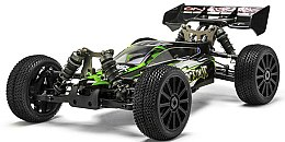 Багги 1:8 Shootout MegaE8XBL Brushless, зелёный - Himoto