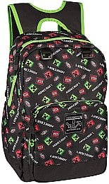 """Рюкзак Minecraft Scatter Creeper Backpack 17"""", MultiColor - Jinx"""